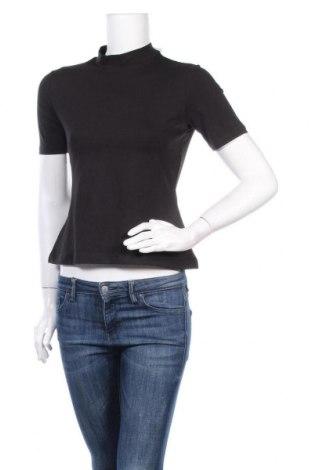 Дамска блуза Even&Odd, Размер M, Цвят Черен, 95% памук, 5% еластан, Цена 17,00лв.