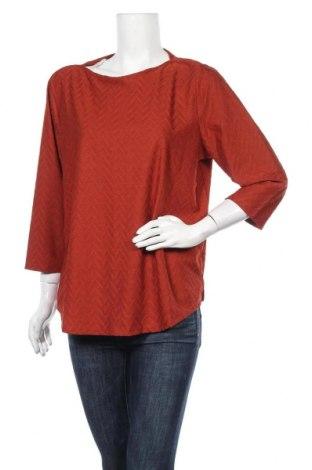 Дамска блуза Fransa, Размер M, Цвят Оранжев, 97% полиестер, 3% еластан, Цена 4,73лв.