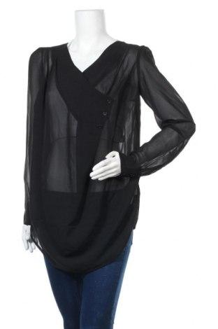 Дамска блуза Free Quent, Размер S, Цвят Черен, Полиестер, Цена 3,00лв.