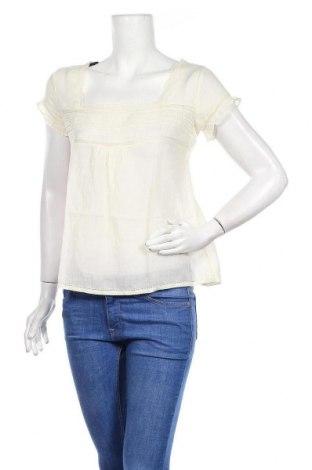 Дамска блуза H&M L.O.G.G., Размер M, Цвят Бежов, Памук, Цена 12,04лв.