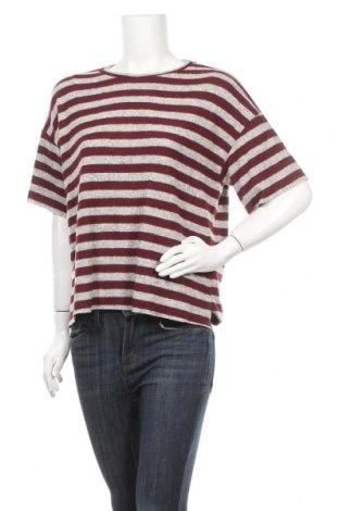 Дамска блуза H&M L.O.G.G., Размер S, Цвят Сив, 51% вискоза, 47% полиестер, 2% еластан, Цена 14,28лв.