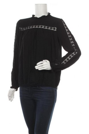 Дамска блуза H&M L.O.G.G., Размер S, Цвят Черен, 100% вискоза, Цена 16,07лв.