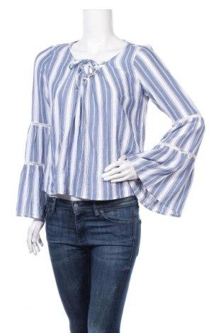 Γυναικεία μπλούζα Hollister, Μέγεθος M, Χρώμα Μπλέ, Βισκόζη, Τιμή 6,43€