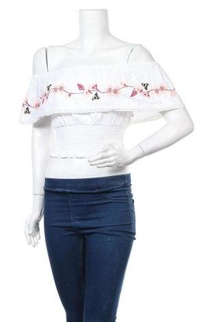 Γυναικεία μπλούζα Miss Selfridge, Μέγεθος S, Χρώμα Λευκό, Βαμβάκι, Τιμή 17,97€