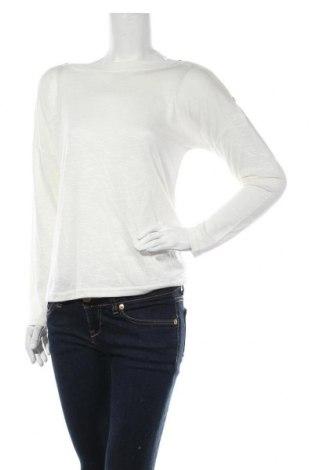 Γυναικεία μπλούζα Pieces, Μέγεθος M, Χρώμα Εκρού, 53% πολυεστέρας, 47% βισκόζη, Τιμή 12,63€