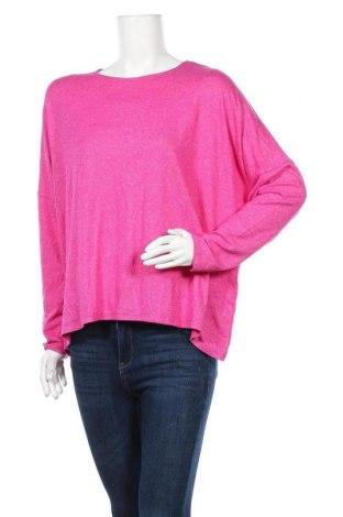 Дамска блуза Seed, Размер L, Цвят Розов, 73% вискоза, 22% полиестер, 5% еластан, Цена 9,45лв.