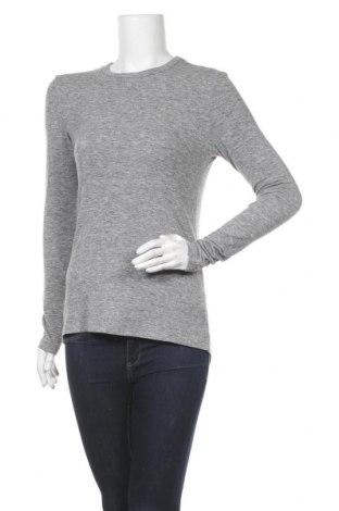 Дамска блуза Soft Rebels, Размер L, Цвят Сив, 79% полиестер, 14% вискоза, 7% еластан, Цена 12,88лв.