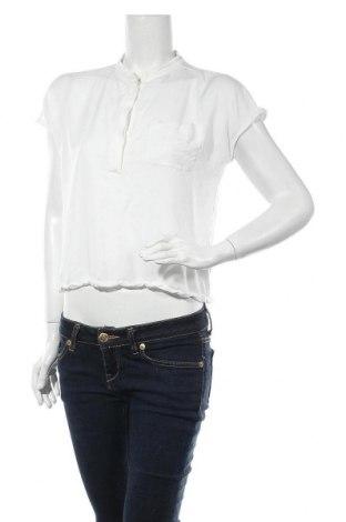 Дамска блуза Someday., Размер S, Цвят Бял, 47% модал, 47% памук, 6% еластан, Цена 8,28лв.