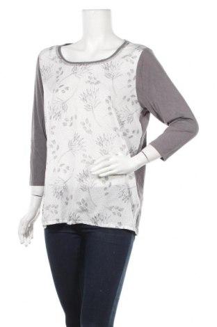 Γυναικεία μπλούζα Soya Concept, Μέγεθος L, Χρώμα Λευκό, 95% βισκόζη, 5% ελαστάνη, Τιμή 4,09€