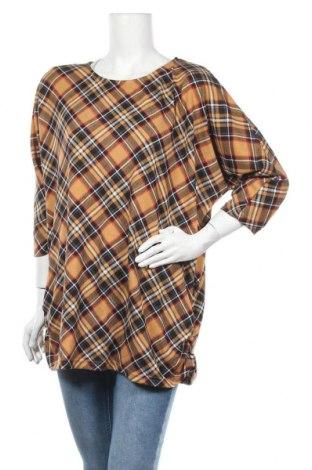 Дамска блуза Zavanna, Размер XL, Цвят Многоцветен, 97% полиестер, 3% еластан, Цена 5,99лв.