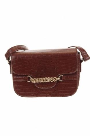 Дамска чанта, Цвят Кафяв, Еко кожа, Цена 17,60лв.