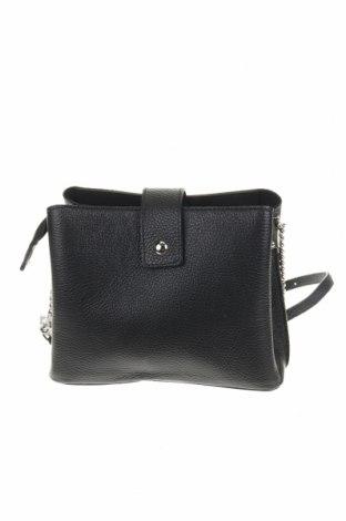 Γυναικεία τσάντα Anna Morellini, Χρώμα Μαύρο, Γνήσιο δέρμα, Τιμή 42,90€