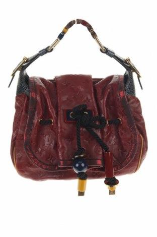 Дамска чанта Louis Vuitton, Цвят Червен, Естествена кожа, Цена 1820,07лв.
