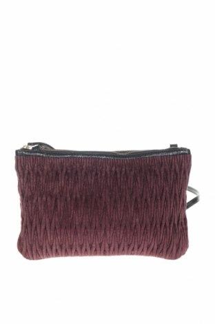 Γυναικεία τσάντα Noa Noa, Χρώμα Κόκκινο, Κλωστοϋφαντουργικά προϊόντα, γνήσιο δέρμα, Τιμή 15,27€