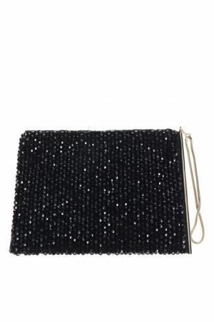 Дамска чанта Reiss, Цвят Черен, Текстил, Цена 47,88лв.