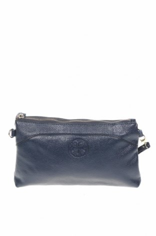 Дамска чанта, Цвят Син, Естествена кожа, Цена 28,67лв.