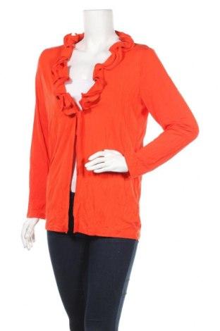 Дамска жилетка, Размер L, Цвят Оранжев, Цена 8,14лв.