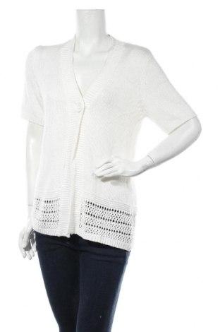 Γυναικεία ζακέτα Fabiani, Μέγεθος M, Χρώμα Λευκό, 100% πολυακρυλικό, Τιμή 14,81€