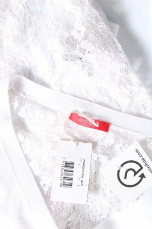 Γυναικεία ζακέτα Guess, Μέγεθος L, Χρώμα Λευκό, 60% βαμβάκι, 40% βισκόζη, Τιμή 13,30€