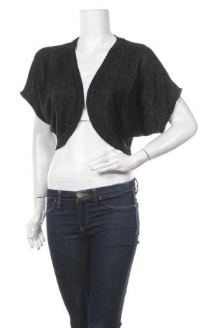 Γυναικεία ζακέτα Katies, Μέγεθος L, Χρώμα Μαύρο, Βισκόζη, μεταλλικά νήματα, Τιμή 5,91€