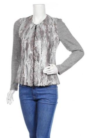 Дамска жилетка Lauren Vidal, Размер L, Цвят Сив, 50% памук, 42% вискоза, 8% акрил, Цена 41,30лв.