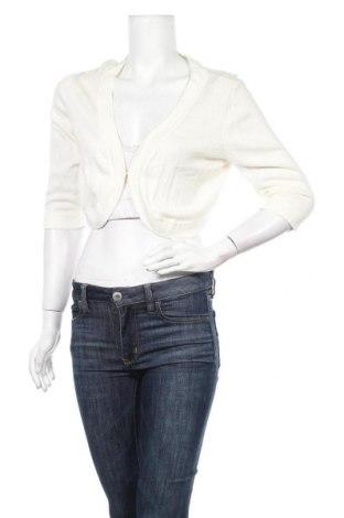 Дамска жилетка Lindex, Размер L, Цвят Бял, 60% вискоза, 40% памук, Цена 20,79лв.