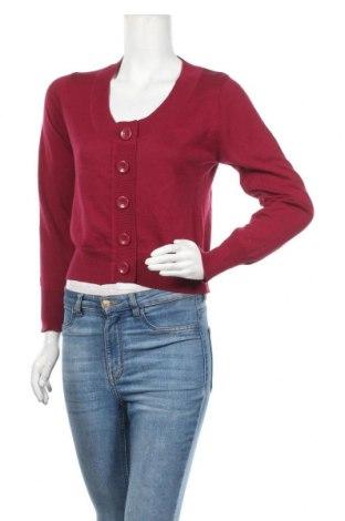 Γυναικεία ζακέτα Miss H., Μέγεθος L, Χρώμα Κόκκινο, Τιμή 5,91€