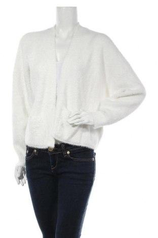 Γυναικεία ζακέτα Miss Selfridge, Μέγεθος L, Χρώμα Λευκό, 70% πολυαμίδη, 19% βισκόζη, 11% πολυεστέρας, Τιμή 12,16€