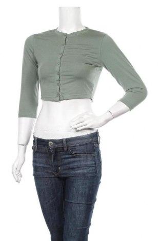 Γυναικεία ζακέτα Missguided, Μέγεθος S, Χρώμα Πράσινο, 70% πολυεστέρας, 25% βισκόζη, 5% ελαστάνη, Τιμή 4,95€