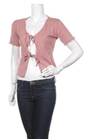 Γυναικεία ζακέτα Missguided, Μέγεθος S, Χρώμα Ρόζ , 50% πολυεστέρας, 45% βαμβάκι, 5% ελαστάνη, Τιμή 5,88€