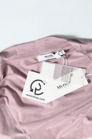 Дамска жилетка Myrine, Размер XS, Цвят Лилав, 92% купро, 8% еластан, Цена 13,00лв.