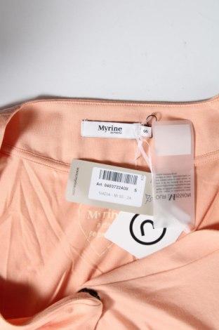 Дамска жилетка Myrine, Размер S, Цвят Розов, Цена 11,96лв.