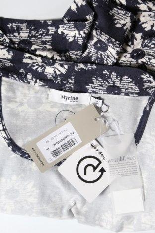 Γυναικεία ζακέτα Myrine, Μέγεθος XL, Χρώμα Μπλέ, 96% βισκόζη, 4% ελαστάνη, Τιμή 9,12€
