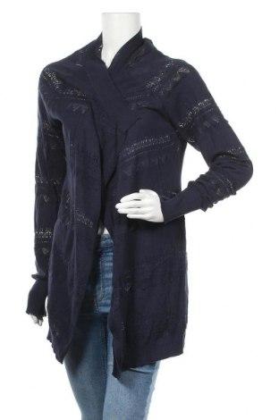 Γυναικεία ζακέτα Myrine, Μέγεθος S, Χρώμα Μπλέ, Βαμβάκι, Τιμή 9,59€