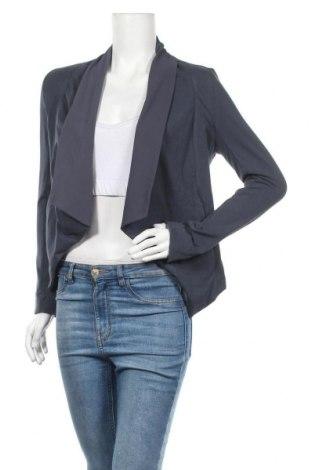 Γυναικεία ζακέτα Myrine, Μέγεθος M, Χρώμα Μπλέ, 95% βαμβάκι, 5% ελαστάνη, Τιμή 8,51€