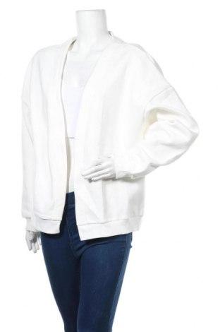 Дамска жилетка Nly Trend, Размер M, Цвят Бял, 65% памук, 35% полиестер, Цена 44,25лв.