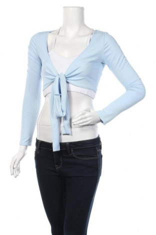 Γυναικεία ζακέτα Simple Wish, Μέγεθος S, Χρώμα Μπλέ, Τιμή 5,41€