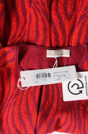 Дамска жилетка Stefanel, Размер S, Цвят Червен, 74% вискоза, 17% полиестер, 9% полиамид, Цена 40,30лв.