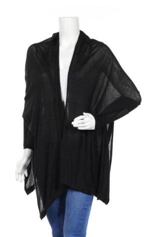 Γυναικεία ζακέτα Zara, Μέγεθος L, Χρώμα Μαύρο, 60% βισκόζη, 40% βαμβάκι, Τιμή 10,52€