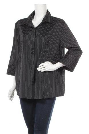 Дамска риза, Размер XXL, Цвят Черен, 70% полиестер, 25% полиамид, 5% еластан, Цена 15,75лв.