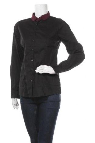 Дамска риза Best Mountain, Размер L, Цвят Черен, 75% памук, 20% полиестер, 5% еластан, Цена 20,65лв.