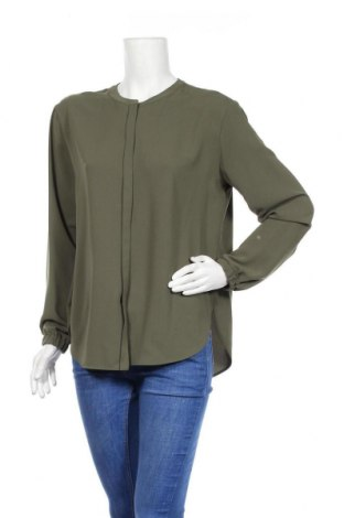 Дамска риза Boss, Размер L, Цвят Зелен, 60% ацетат, 40% полиестер, Цена 47,60лв.
