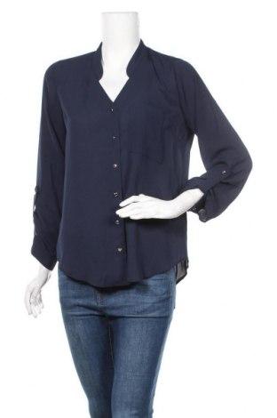 Дамска риза Dorothy Perkins, Размер M, Цвят Син, Полиестер, Цена 23,22лв.