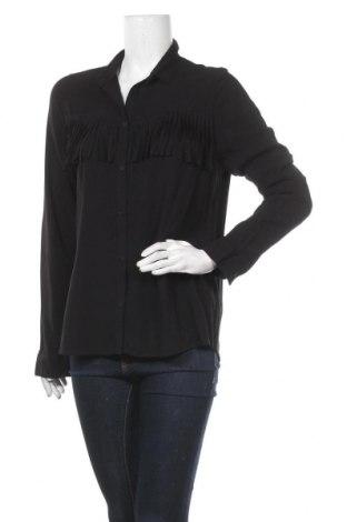 Дамска риза Eleven Paris, Размер L, Цвят Черен, Вискоза, Цена 41,42лв.