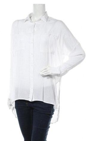 Дамска риза Farina Opoku, Размер XS, Цвят Бял, Вискоза, Цена 24,15лв.