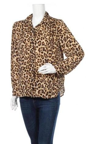 Дамска риза H&M, Размер M, Цвят Многоцветен, Полиестер, Цена 20,95лв.