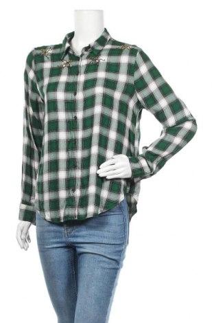 Дамска риза H&M, Размер L, Цвят Многоцветен, Вискоза, Цена 18,95лв.