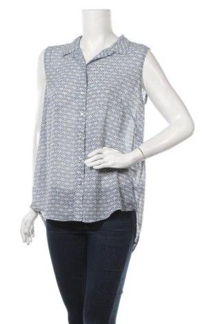 Дамска риза H&M, Размер XL, Цвят Син, Полиестер, Цена 6,83лв.