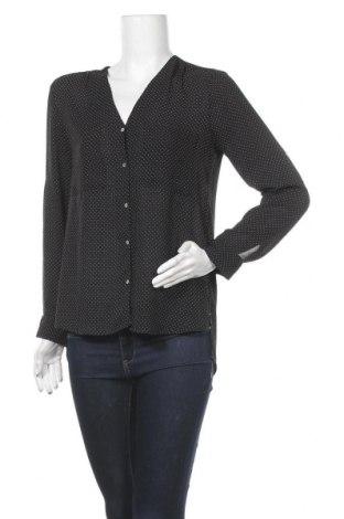 Дамска риза H&M, Размер S, Цвят Черен, 100% полиестер, Цена 18,95лв.