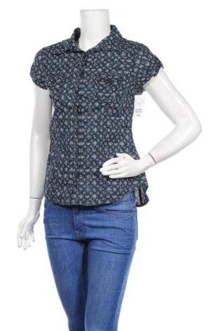 Дамска риза H&M L.O.G.G., Размер M, Цвят Син, Памук, Цена 21,75лв.